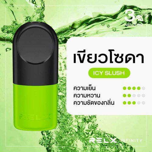 RELX Infinity Pod Flavor Icy Slush Green Soda