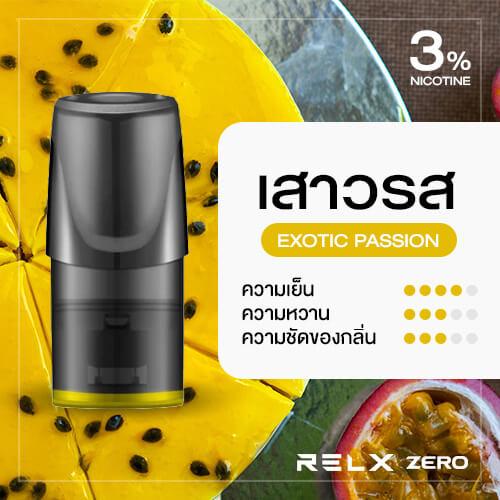 RELX Zero Classic Pod Flavor Exotic Passion Fruit